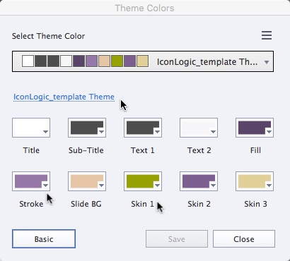 Theme 4 colors