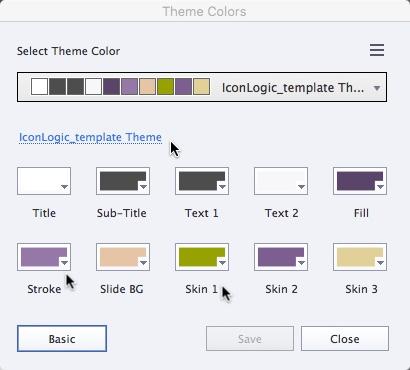 Theme 4 colors